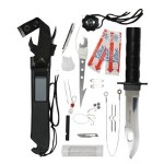 Zombie Defense Rothco Deluxe Adventurer Survival Kit Knife