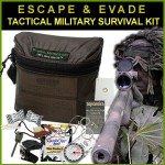 Zombie Escape & Evade Tactical Military Survival Kit