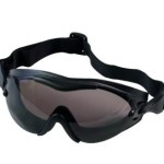 Black SWAT TEC Single Lens Anti-Fog & Zombie Scratch Resistant Tactical Goggles