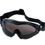 Black SWAT TEC Single Lens Anti-Fog & Zombie Scratch Resistant Tactical Goggles