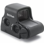 Picking off Zombies Eotech Tactical Holographic Sight, CR123 Battery, 1MOA Side Button