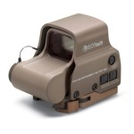 Picking off Zombies for Fun Eotech EXPS3-2 Sight Reticle Pattern 65MOA Ring 2 -1MOA Dots, Tan