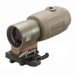 Shooting Zombies from a Distance Eotech Magnifiers with Mount G23, Tan