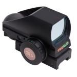 Truglo Zombie Targeting Red-Dot Tru-Brite Open-Dot Multi Blk Box, Black