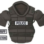 UPPER BODY ZOMBIE PROTECTOR- POLICE- SHERIIF-CORRECTIONS- SIZE XLARGE