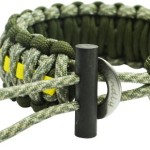 Para-cord Survival Bracelets – Adjustable Size Fits 7-9 Inch Wrists – Approx 16 Feet Disassembled Length -  With Fire Starter