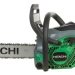 Zombie Carving Hitachi CS33EB 16 16-Inch 32.2cc PureFire 2-Stroke Gas-Powered Chain Saw with Anti-Vibration System (CARB Compliant)