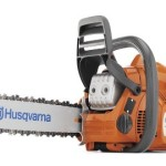 Zombie Dicing Husqvarna 435 16-Inch 40.9cc 2 Stroke Gas Powered Chain Saw (CARB Compliant)