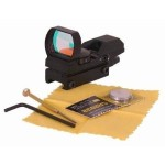 Zombie Hunting UAG Tactical 4 Reticle Red Dot Open Reflex Sight with Weaver-Picatinny Rail Mount