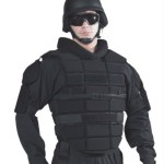 Zombie Preventing Damascus DCP2000 Upper Body and Shoulder Protector, Extended,