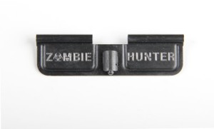 Zombie Hunter – Engraved AR15 Ejection Port Cover